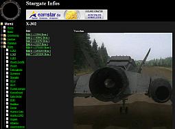Screenshot von Stargate Infos V2